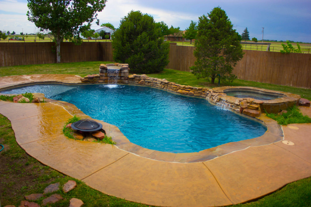Texas pools and spas pool concepts amarillo custom for Swimming pool design 2015